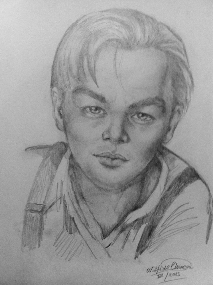 Leonardo DiCaprio par wilfredo